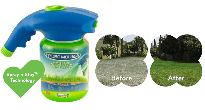 Hydro Mousse™ Liquid Lawn™