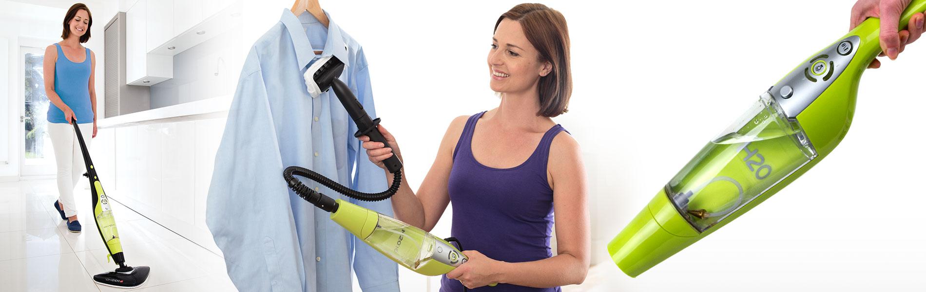 H2O® HD Steam Cleaner™