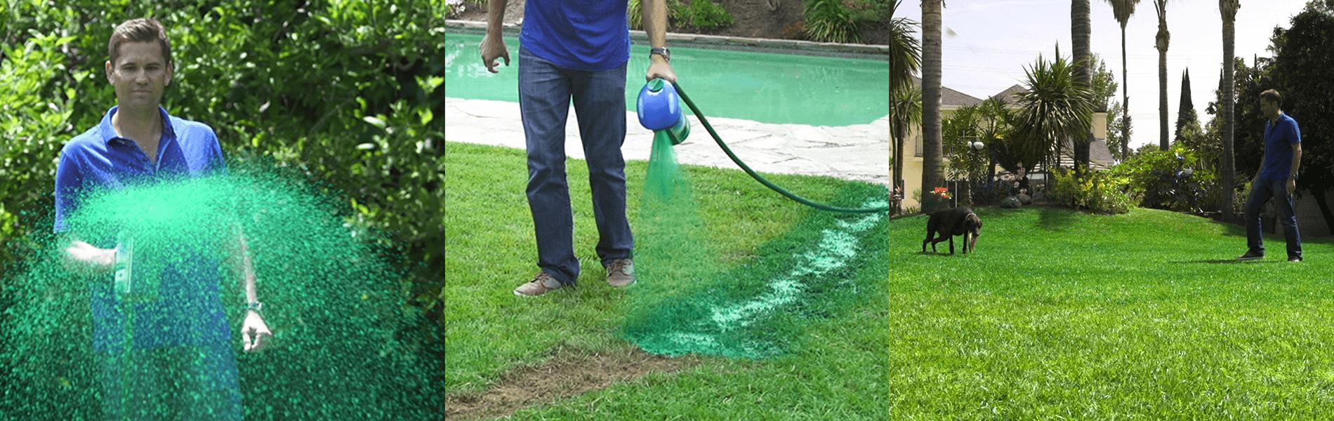 Hydro Mousse™ Liquid Lawn™
