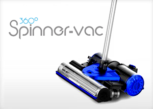 360° Cordless Spinner-Vac